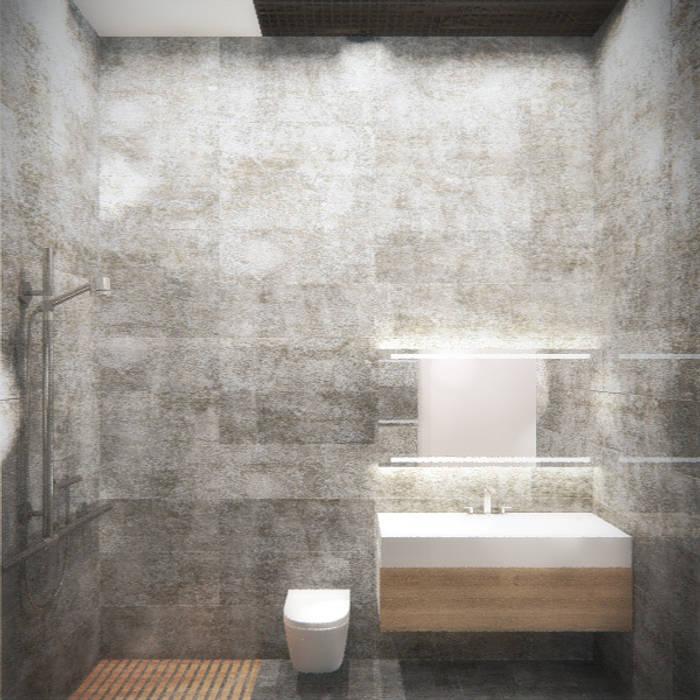 Санузел Ванная комната в стиле минимализм от Блаудерман Бюро Минимализм