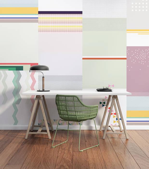 Cut&Paste Pink: Studio in stile  di All The Fruits