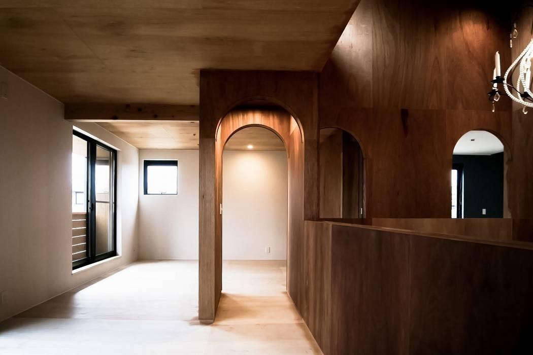 Ik-house ラスティックデザインの 子供部屋 の AtelierorB ラスティック
