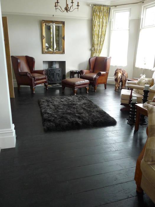 Salones de estilo  de Chaunceys Timber Flooring, Moderno