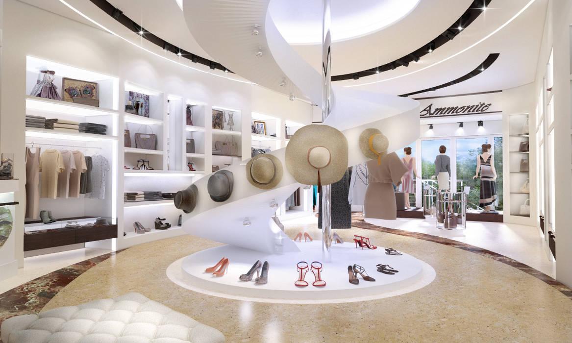 Магазин женской одежды в г. Геленджик от Студия Ксении Седой Минимализм