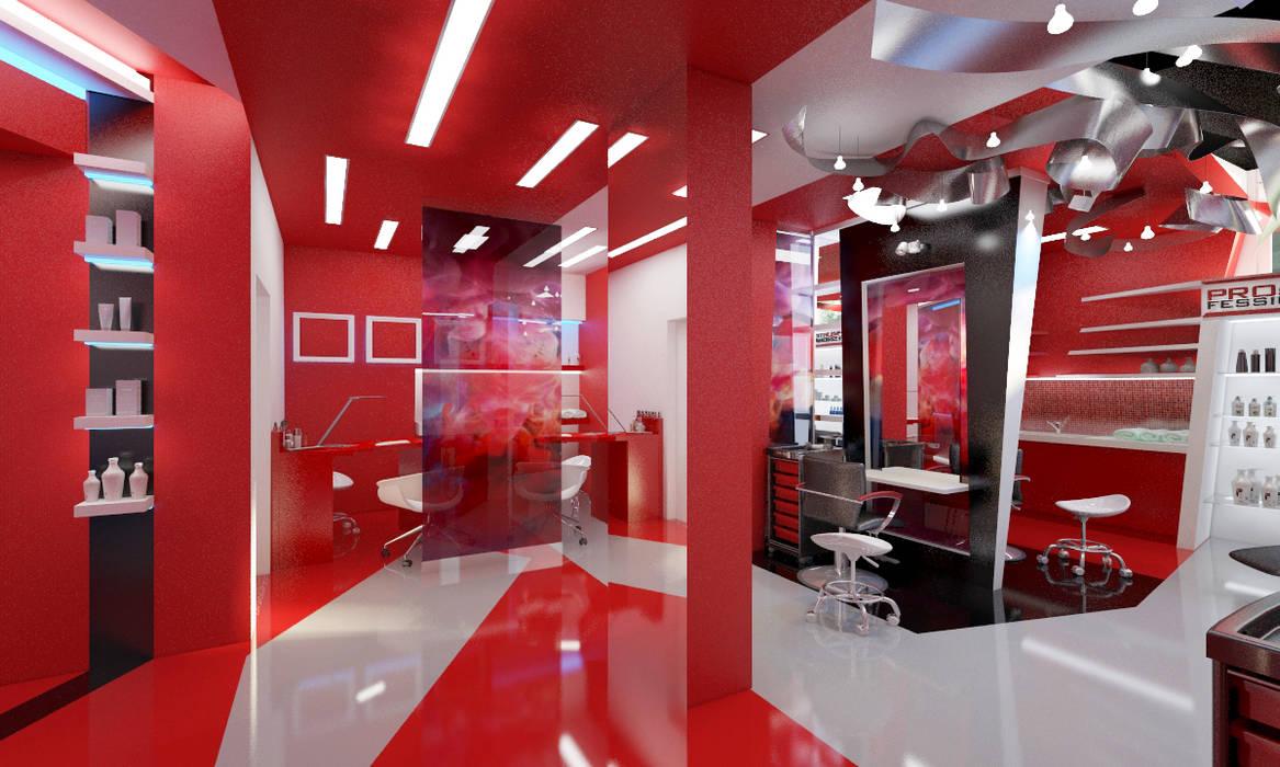 Салон красоты Кабинеты врачей в эклектичном стиле от Студия Ксении Седой Эклектичный