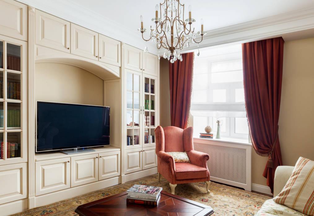 Гостиная Гостиная в классическом стиле от Ася Бондарева Классический