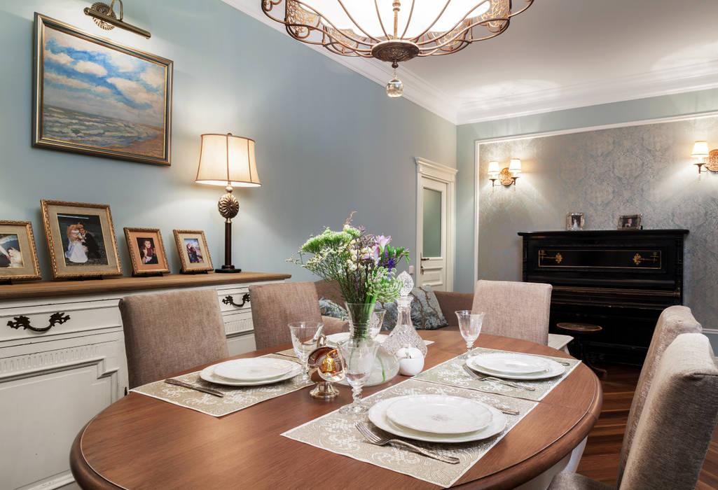 Столовая Столовая комната в классическом стиле от Ася Бондарева Классический
