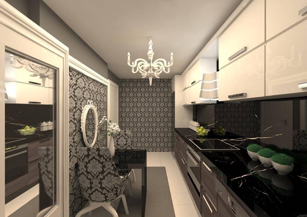 Cozinhas modernas por Meral Akçay Konsept ve Mimarlık Moderno