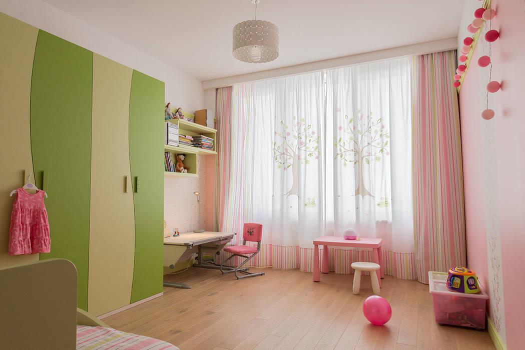Яркий минимализм: Детские комнаты в . Автор – D&T Architects