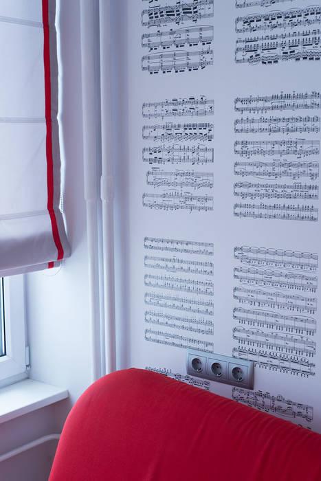 Яркий минимализм Рабочий кабинет в стиле минимализм от D&T Architects Минимализм