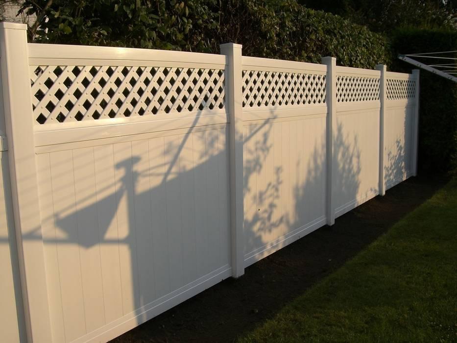 Ogrodzenie parkanowo-ażurowe Klasyczny ogród od Ogrodzenia PCV Klasyczny