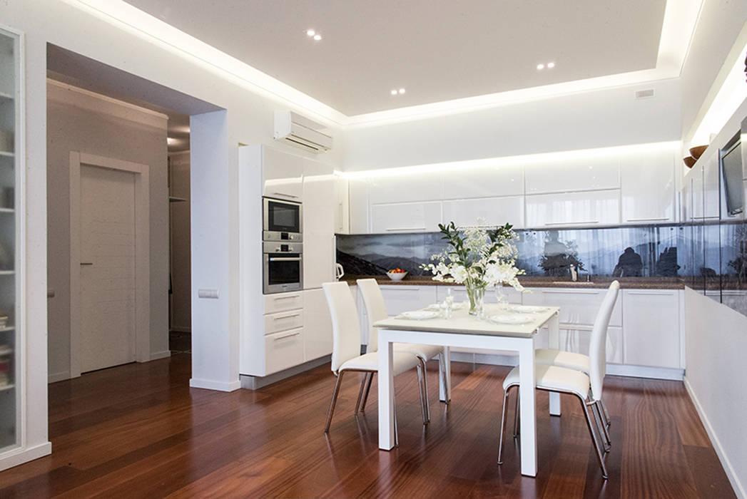 Достичь вершин: Кухни в . Автор – D&T Architects