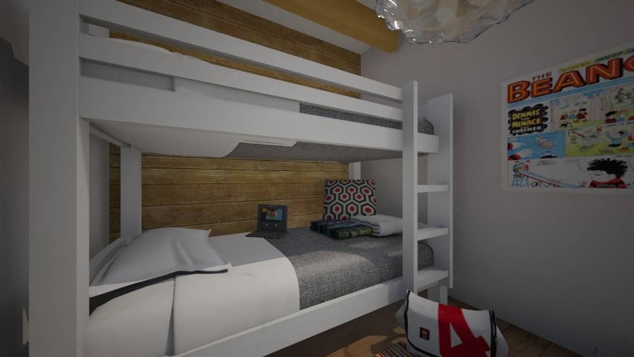 UN TOCCO ATTUALE: Camera da letto in stile in stile Eclettico di TOBEHOME INTERIORS