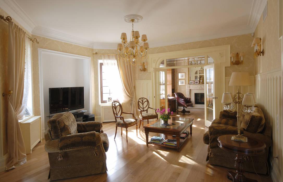 Klassische wohnzimmer von d t architects homify - Klassische wohnzimmer ...