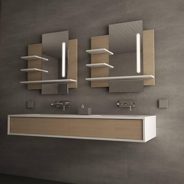 Badmöbel mit Regalen Lüdenscheid Lionidas Design GmbH BadezimmerAufbewahrungen