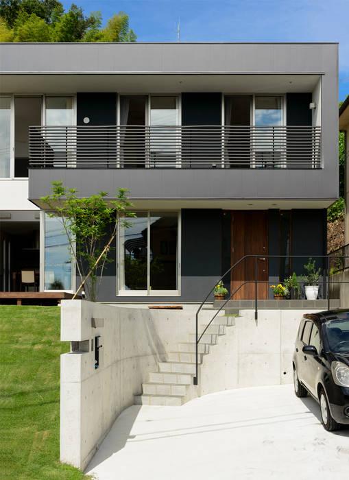H建築スタジオ 現代房屋設計點子、靈感 & 圖片