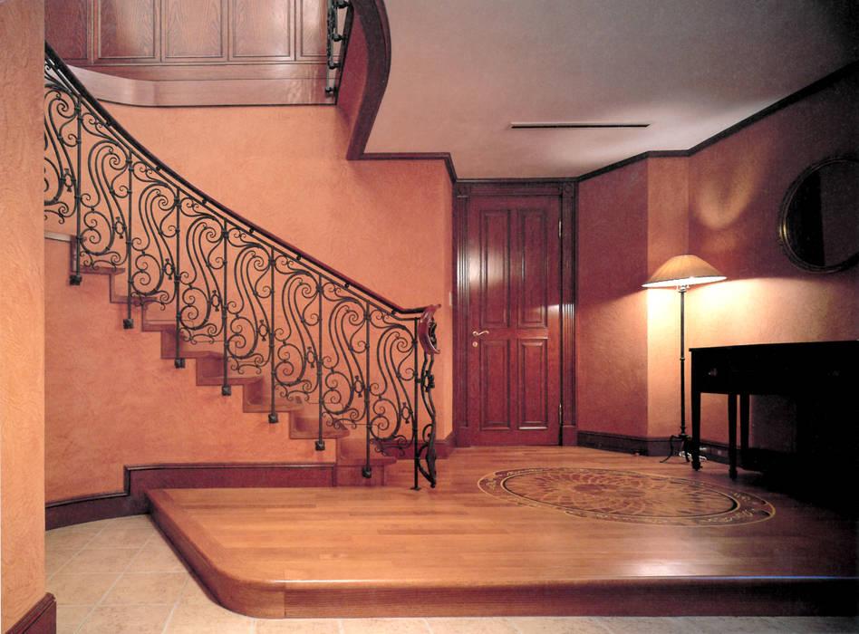 Private House : Ingresso & Corridoio in stile  di Villi Zanini - Wrought Iron Art