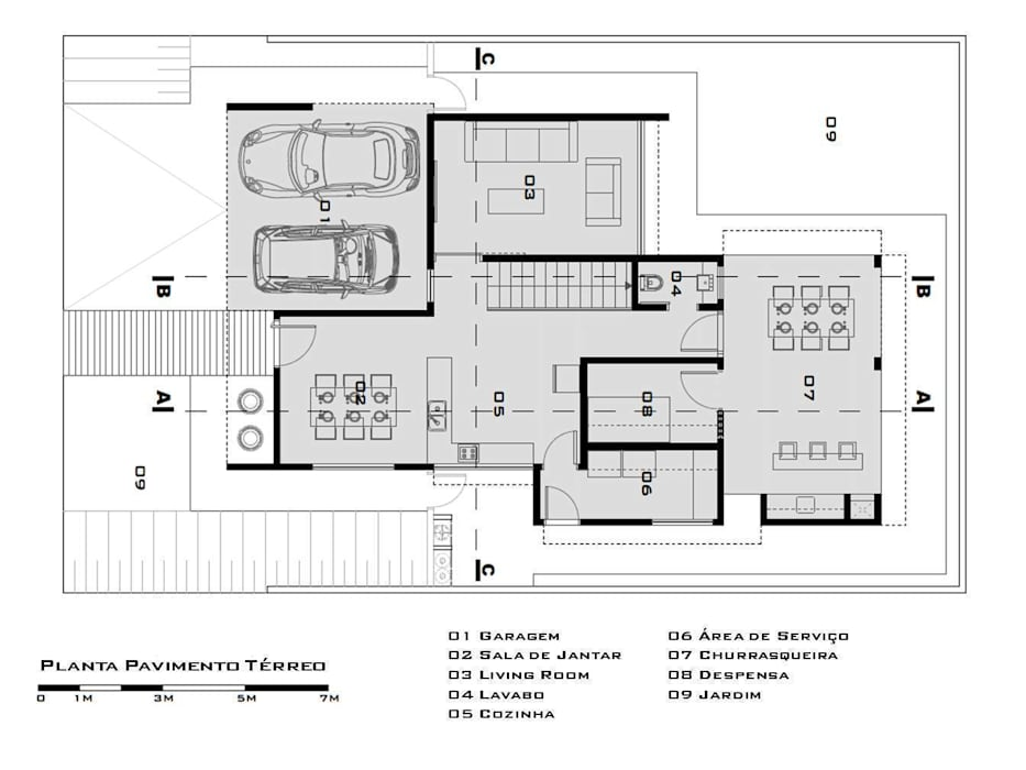 modern  by Tony Santos Arquitetura, Modern