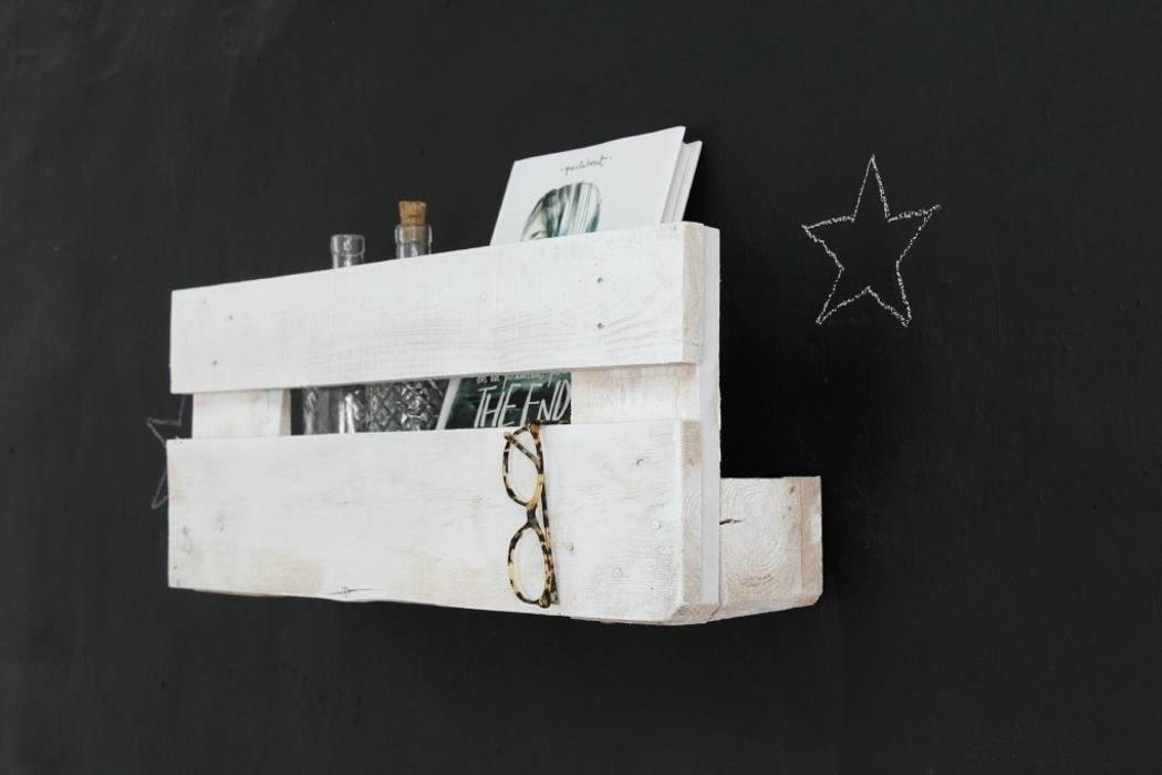 VELETA estantería palets. 68cm: Hogar de estilo  de ECOdECO Mobiliario