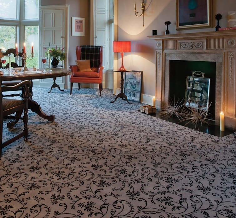 Flock carpets made in 100% Laneve, a premium wool sourced from Wools of New Zealand Flock Living Paredes y pisosAlfombras