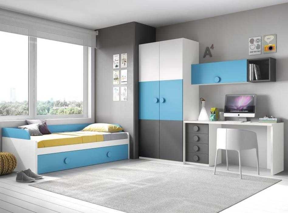 Dormitorios infantiles  de estilo  por homify