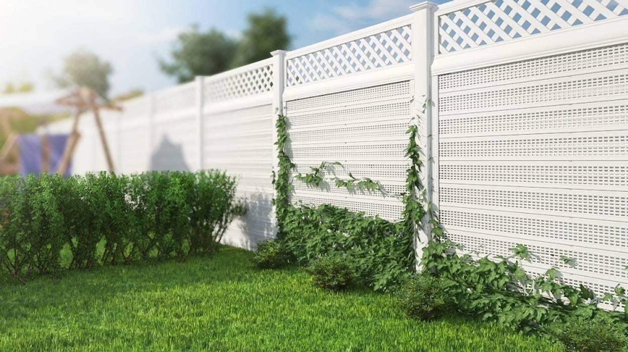Ogrodzenie akustyczne Klasyczny ogród od Ogrodzenia PCV Klasyczny