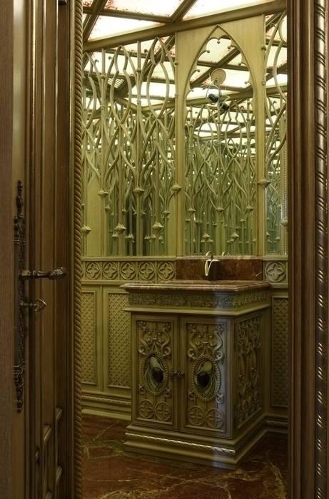 Студия Анны Куликовой и Павла Миронова BathroomMirrors
