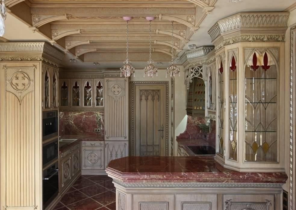 Kitchen by Студия Анны Куликовой и Павла Миронова,