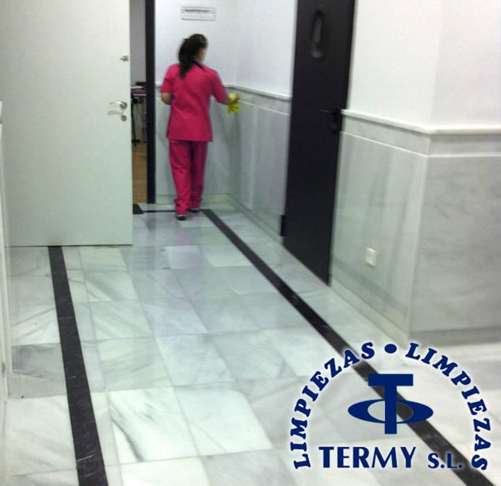 Limpiezas Termy - Empresa de limpieza en Madrid: Estudios y despachos de estilo  de Limpiezas Termy