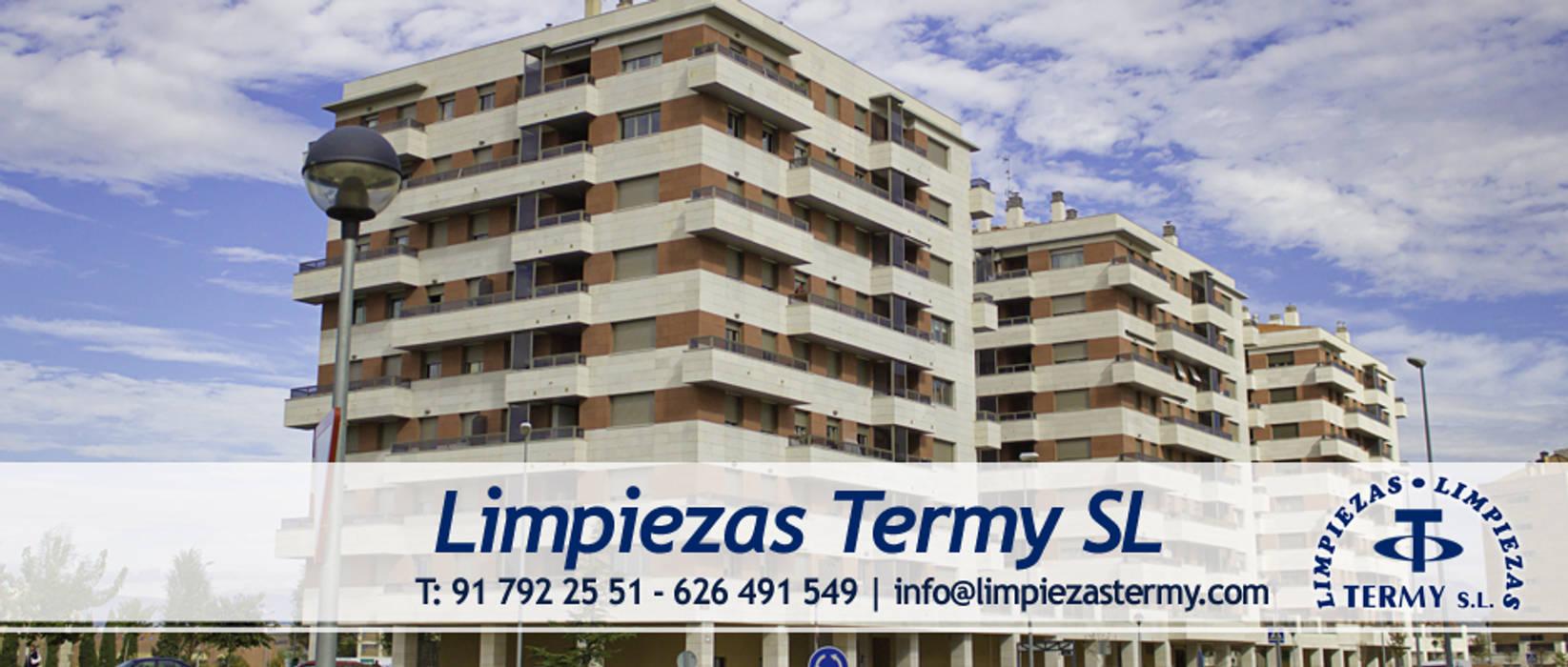 Limpiezas Termy - Empresa de limpieza en Madrid: Garajes de estilo moderno de Limpiezas Termy