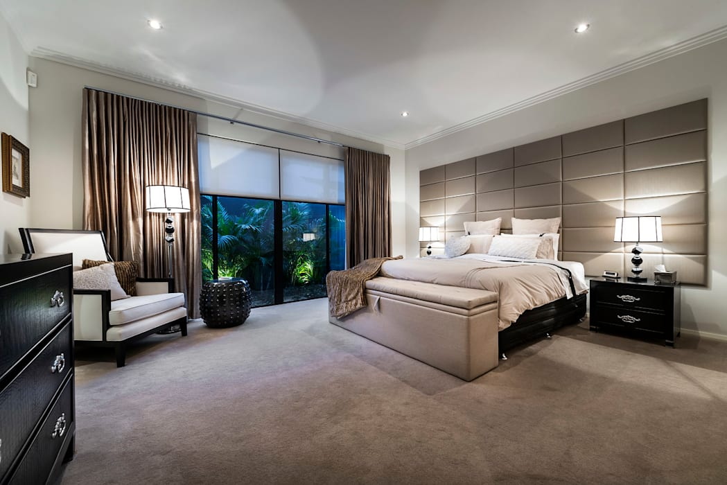 Floreat Residence Modern style bedroom by Moda Interiors Modern