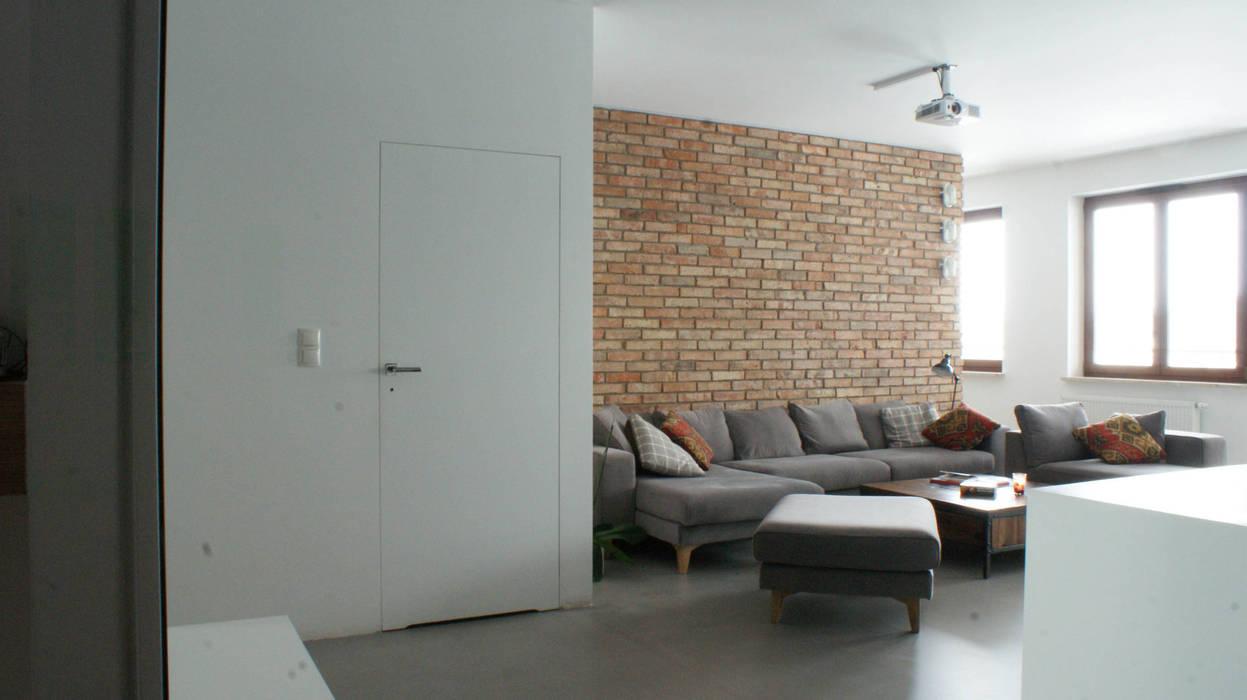 LOFT W WIALANOWIE t design Industrialny salon