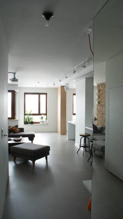Industriale Wohnzimmer von t design Industrial