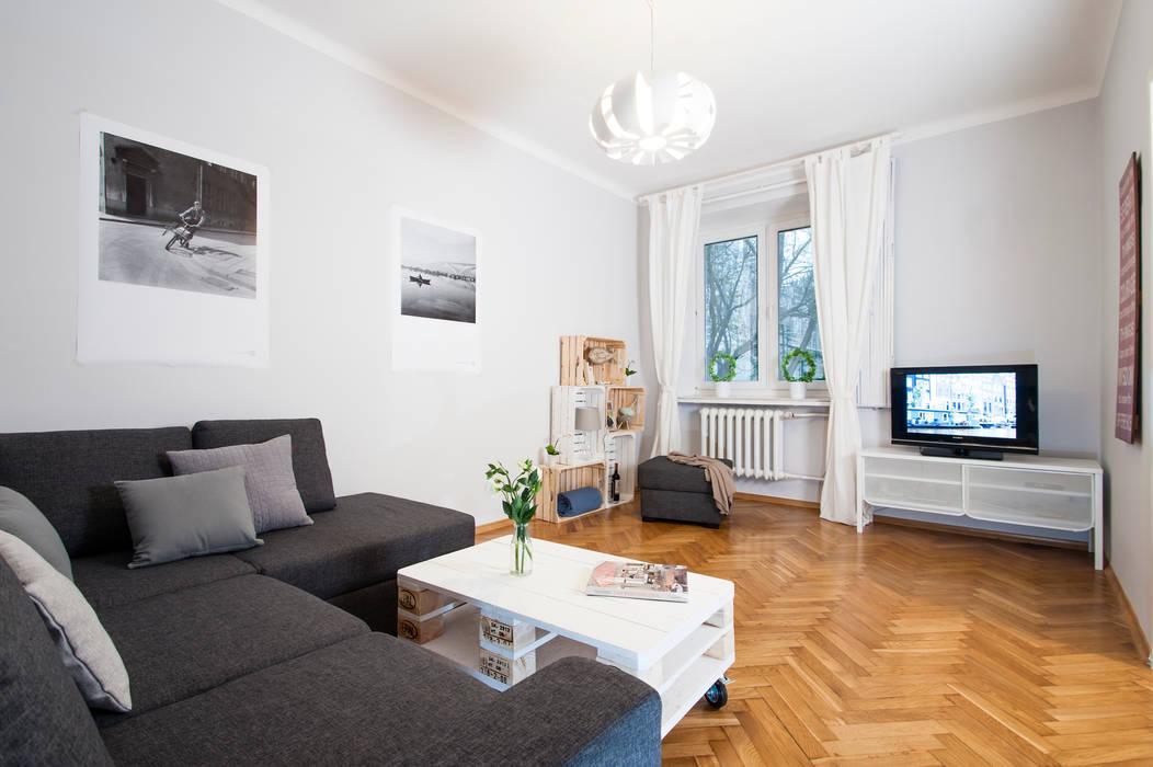 SALON PO METAMORFOZIE od Better Home Interior Design Skandynawski