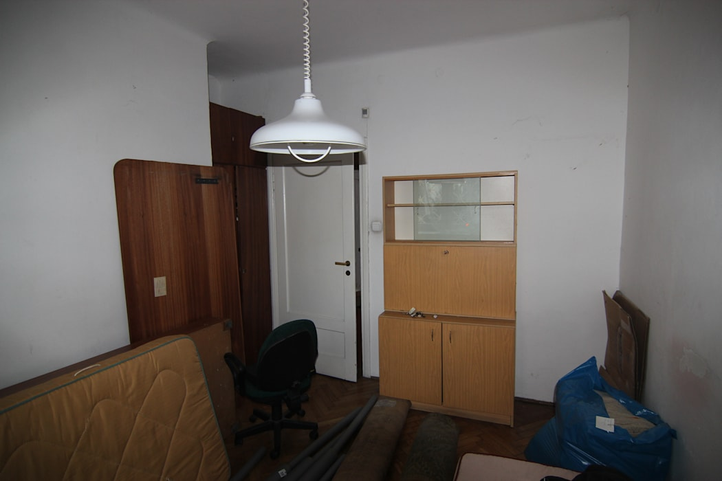 SYPIALNIA PRZED METAMORFOZĄ od Better Home Interior Design Skandynawski