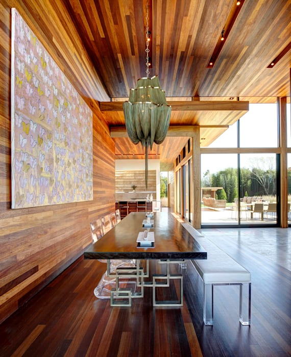 Sam's Creek Modern dining room by homify Modern