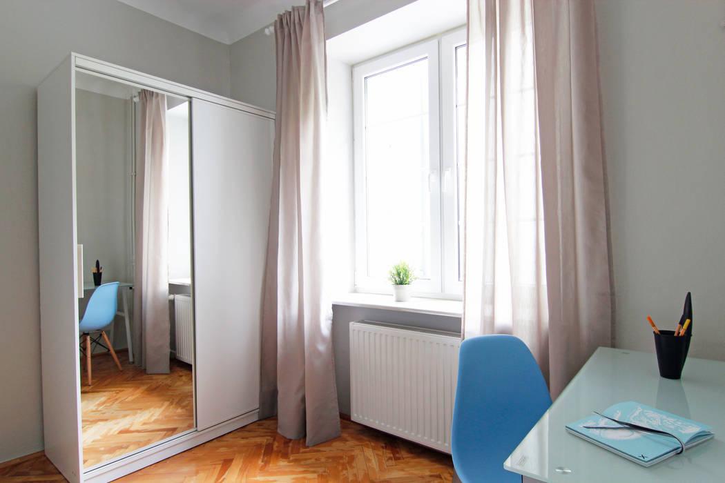 POKÓJ NR 2 PO METAMORFOZIE od Better Home Interior Design Skandynawski