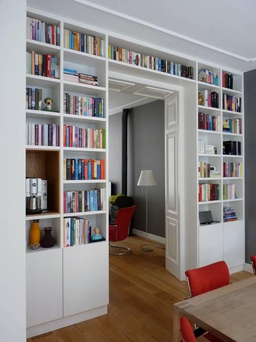boekenkast in separatie woonkamer door gosker ontwerp interieur architectuur