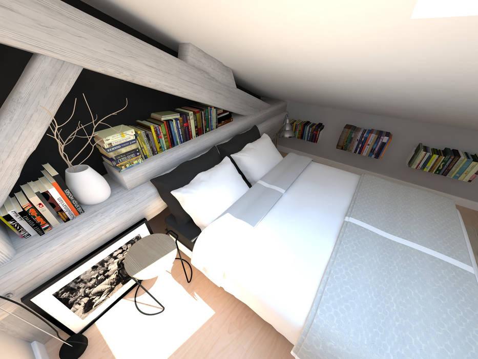 Réaménagement d'une chambre: Chambre de style  par La Fable