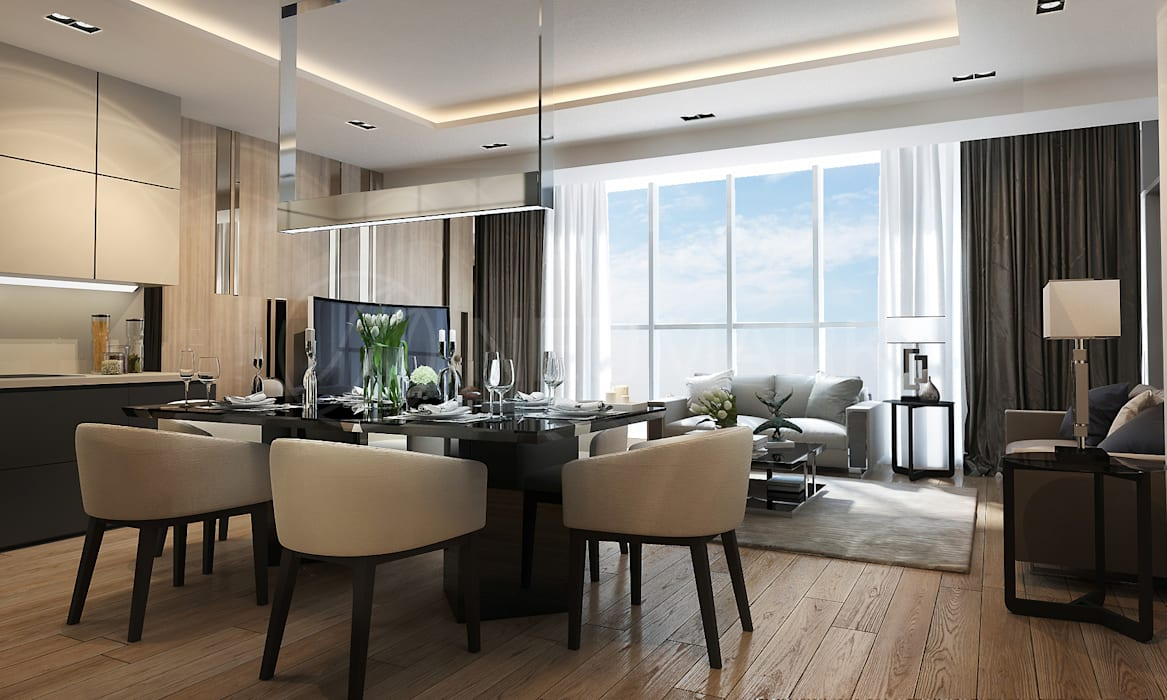 Living room by Anton Neumark,