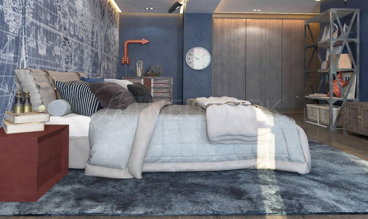Apartment on Varshavskaya St., St.-Petersburg, Russia Детские комната в эклектичном стиле от Anton Neumark Эклектичный