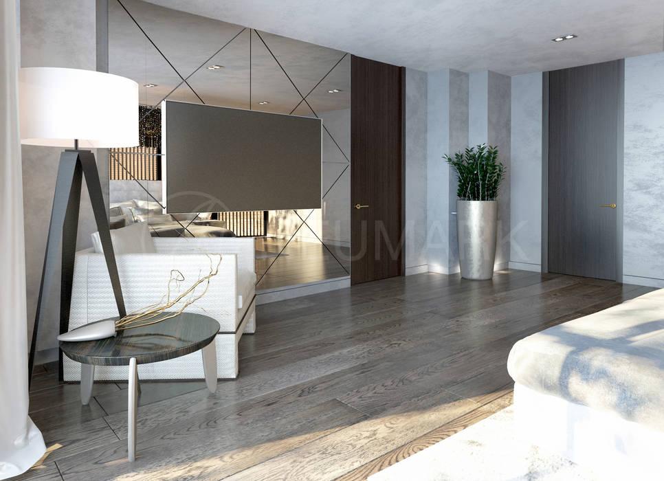 Dormitorios de estilo ecléctico de Anton Neumark Ecléctico