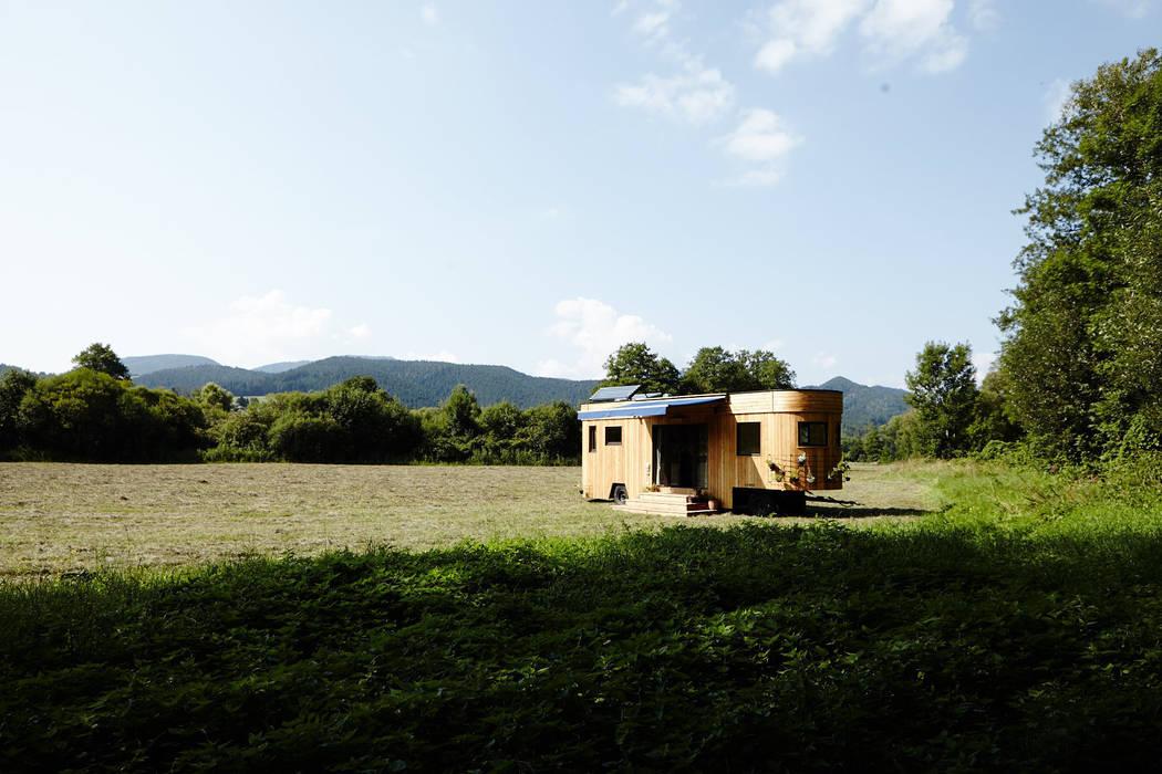 Der Wohnwagon im Grünen Wohnwagon Moderne Häuser