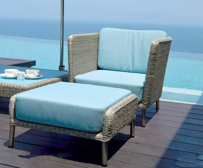 Fiji Lounge Sessel: modern  von KwiK Designmöbel GmbH,Modern