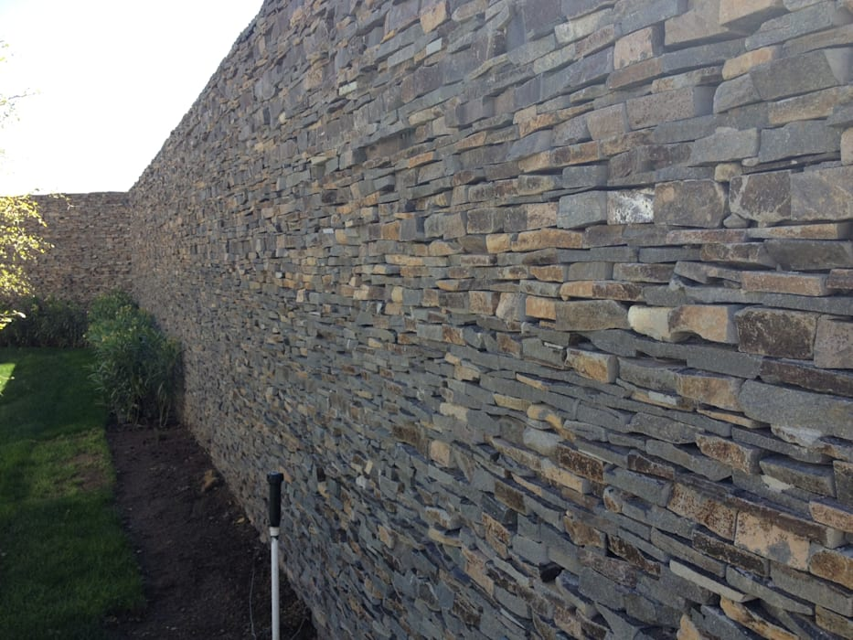 Piedra Laja Jardines modernos de Piedra Serena Moderno