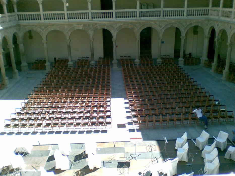 Concierto en el monasterio Museos de estilo mediterráneo de GARCIA HERMANOS Mediterráneo