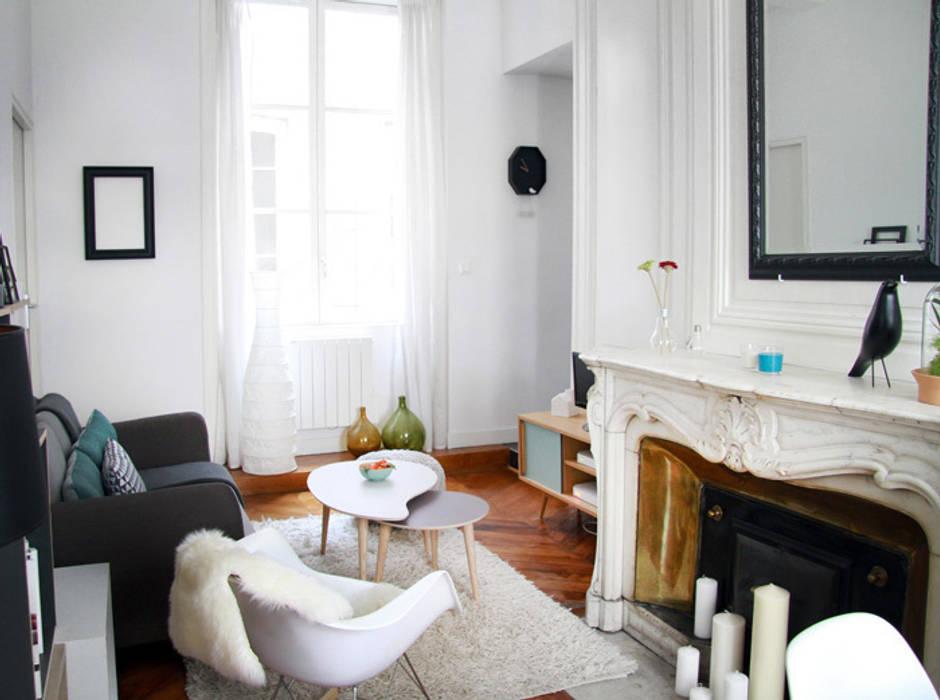 Wohnzimmer von marion lanoë architecte d intérieur homify