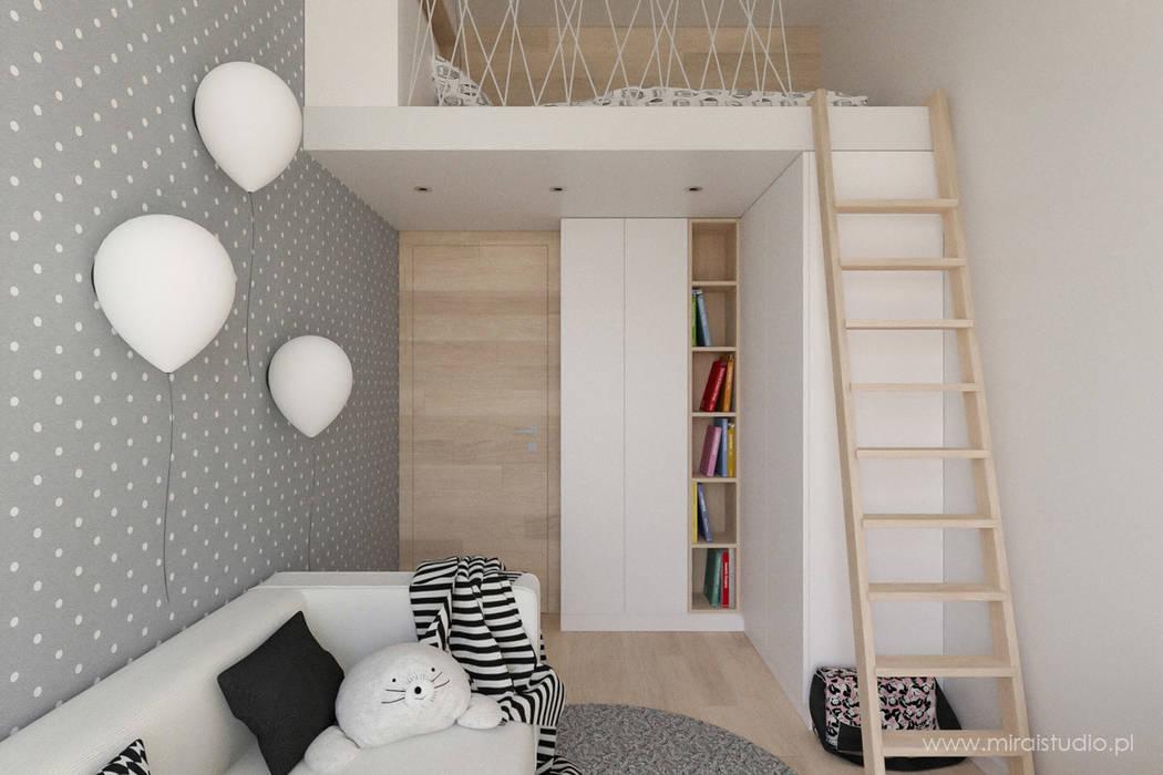 Dormitorios infantiles de estilo  de MIRAI STUDIO, Escandinavo