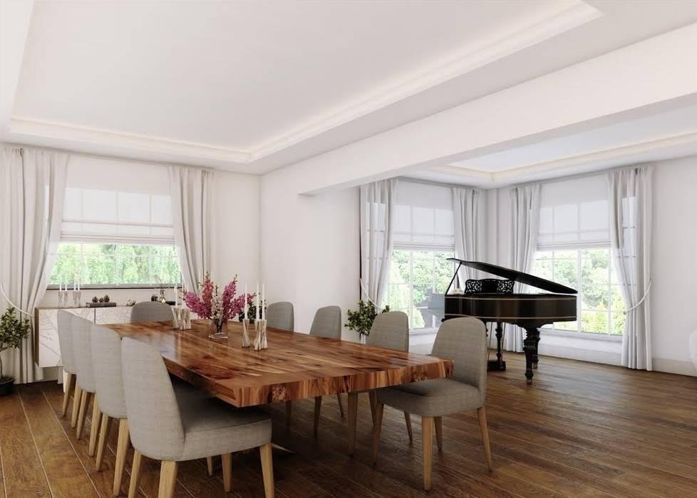 Nuevo Tasarım – Ankarada bir ev:  tarz Oturma Odası