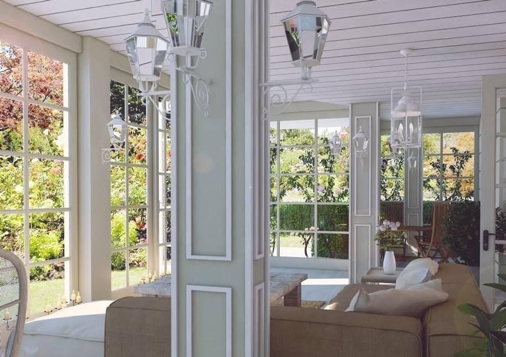 Nuevo Tasarım – Ankarada bir ev:  tarz Kış Bahçesi