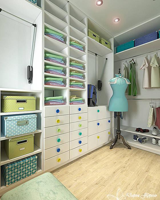 Children's room for a girl with dressing room: Гардеробные в . Автор – Your royal design, Классический