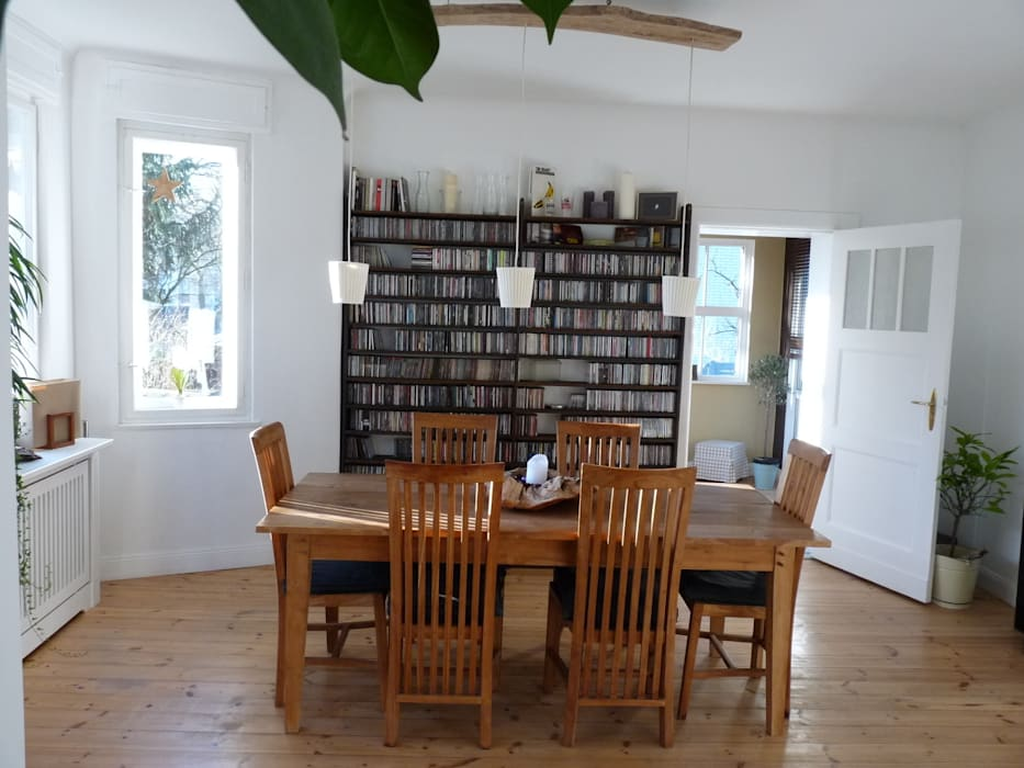 Country style dining room by berliner landjungs Country