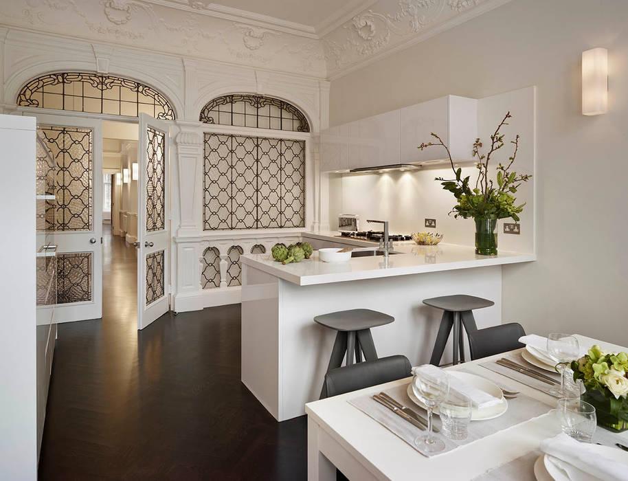London Charm Elan Kitchens Cocinas de estilo moderno